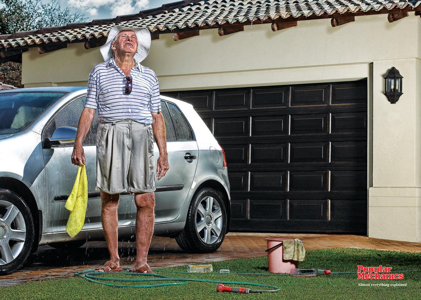 Popular Mechanics Print Ad -  Rain