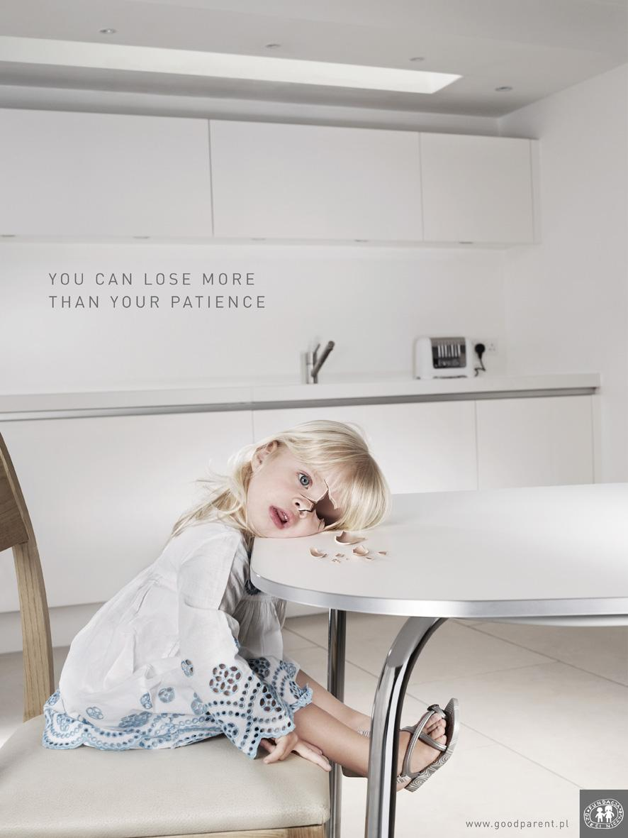 Good Parent Print Ad -  Girl