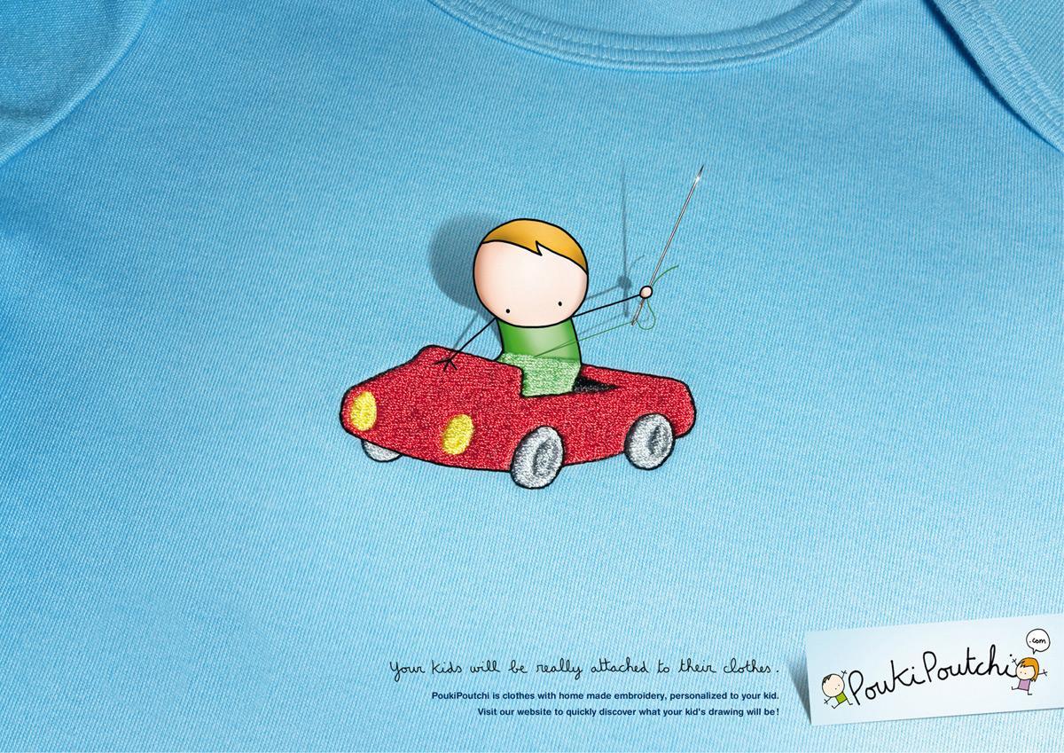 PoukiPoutchi Print Ad -  Boy