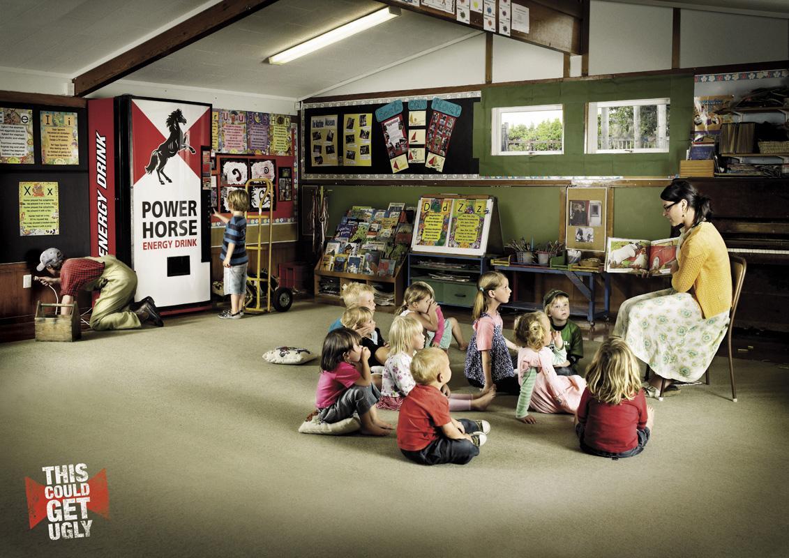 Power Horse Print Ad -  Kindergarten