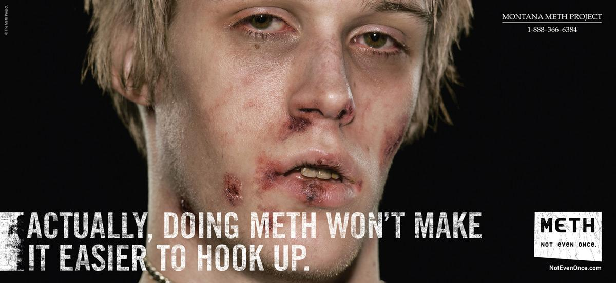 Montana Meth Project Print Ad -  Hookup