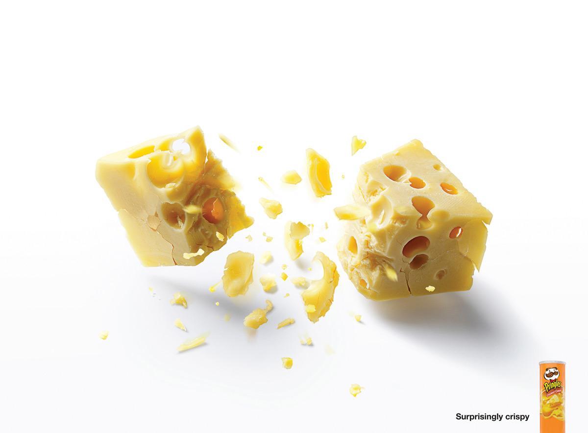 Pringles Print Ad -  Cheese