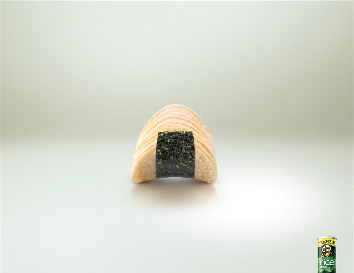 Pringles Print Ad -  Triangle Rice Cake