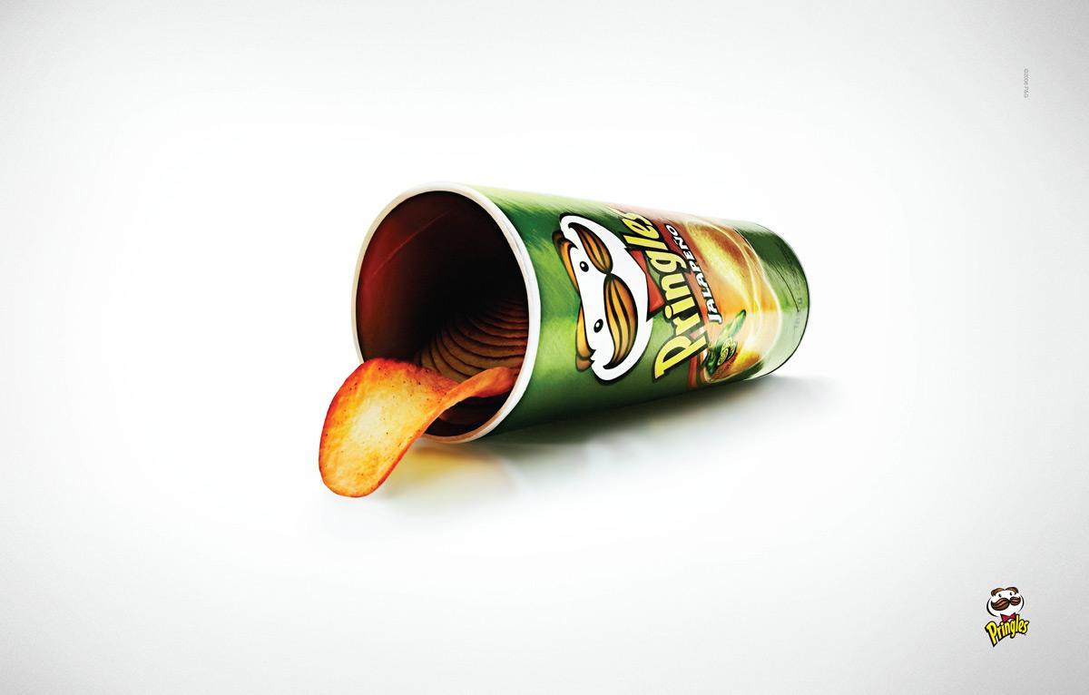 Pringles Print Ad -  Tongue