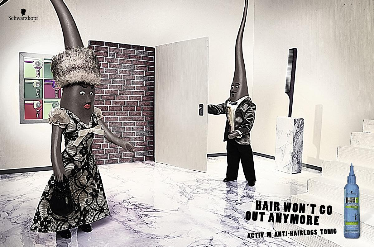 Hair Arrest, Wall