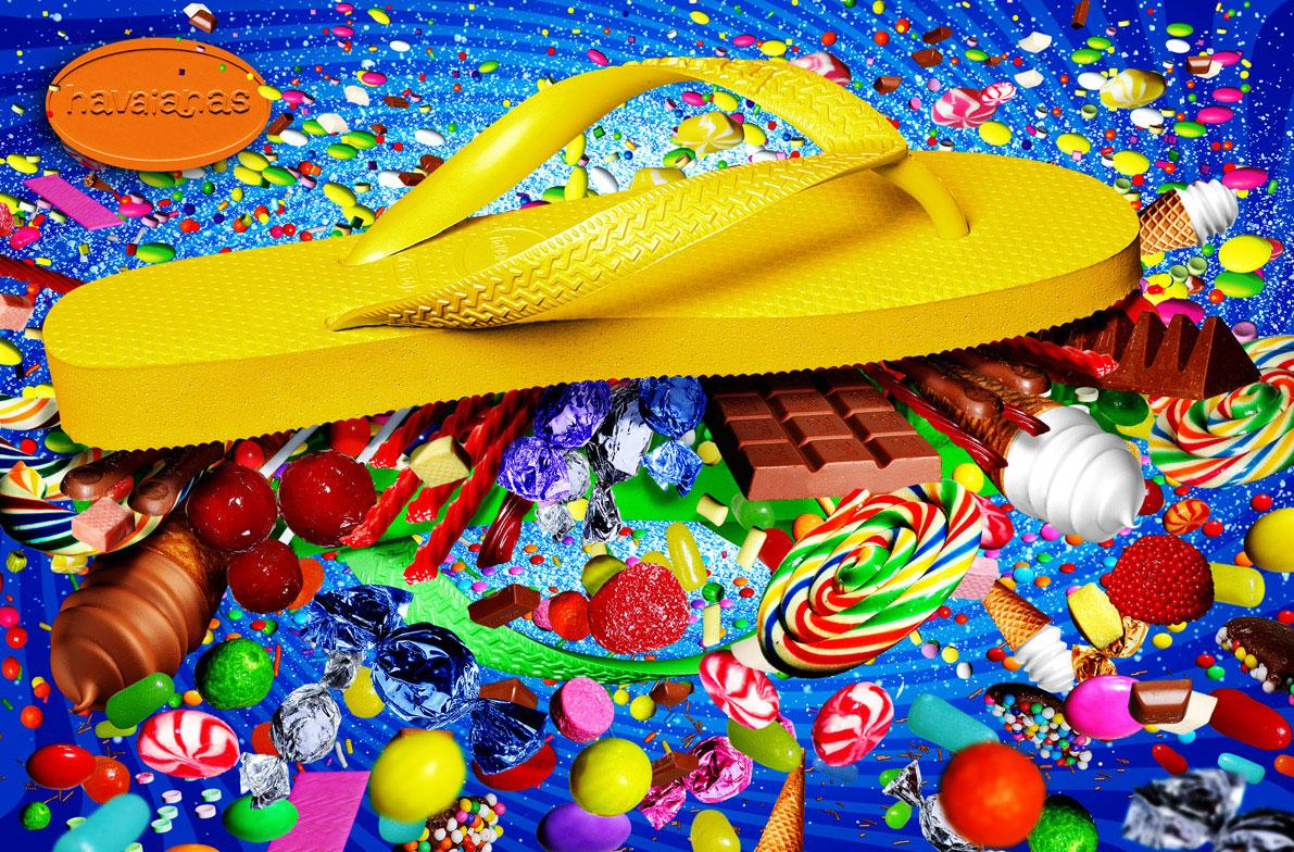 Havaianas Print Ad -  Candy