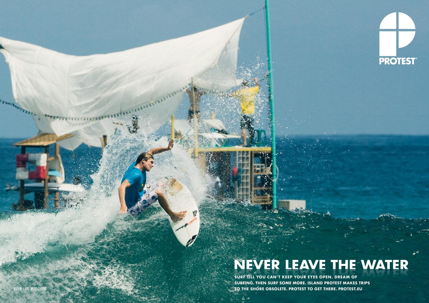 Protest Boardwear Print Ad -  Island protest, 2