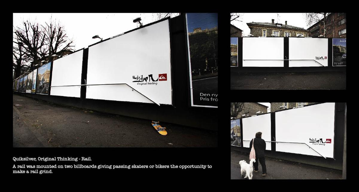 Quiksilver Ambient Ad -  Rail