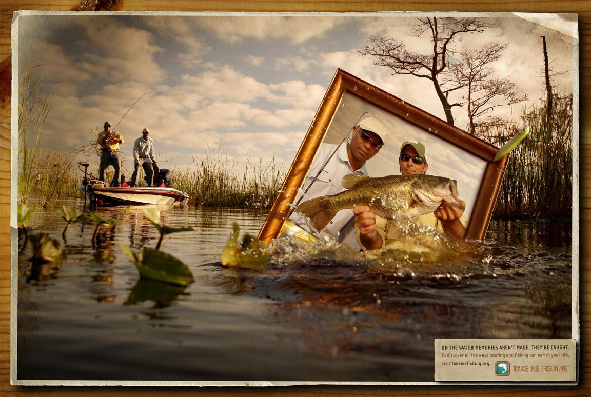 Takemefishing.org Print Ad -  Bass
