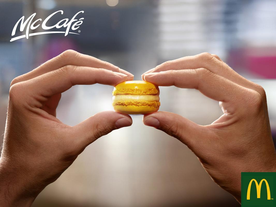 McDonald's Print Ad -  Small burger, 1