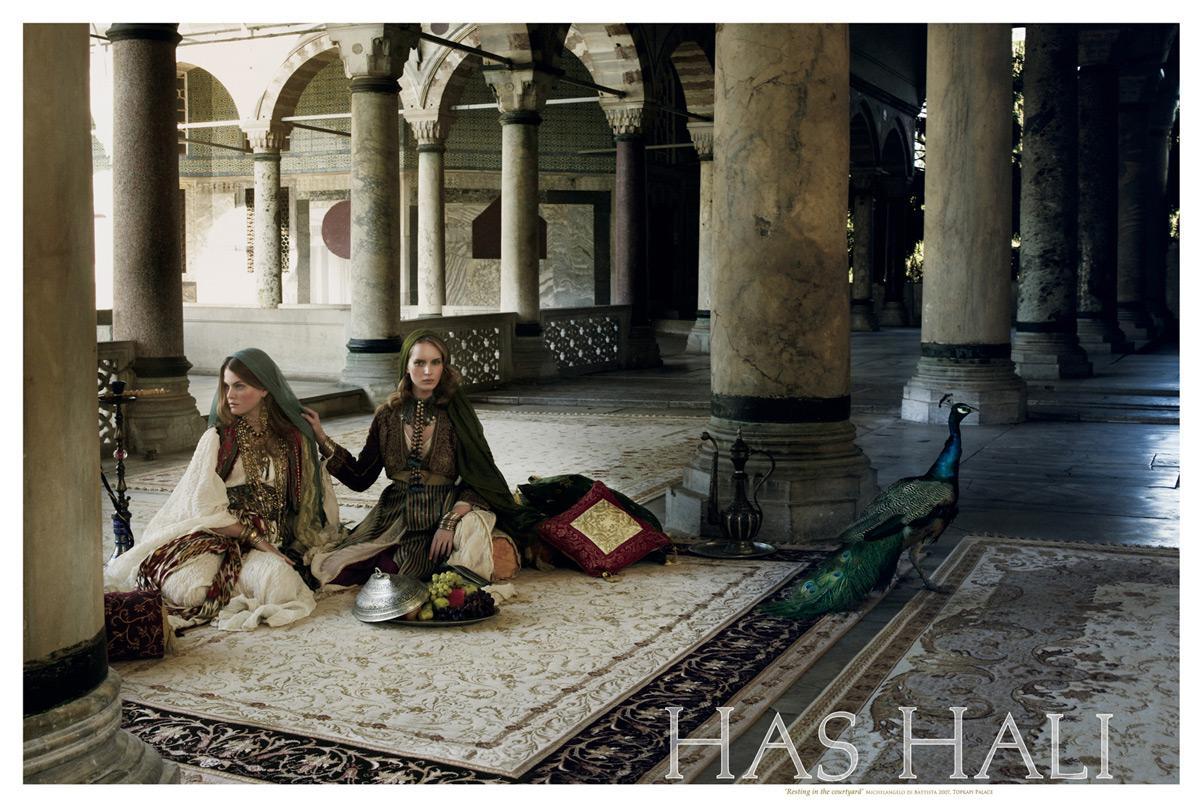 Has hali Print Ad -  Resting