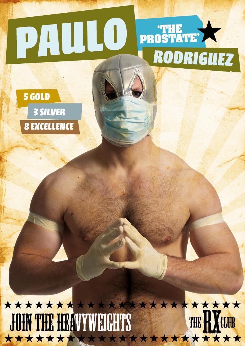 Heavyweights postcard, 1