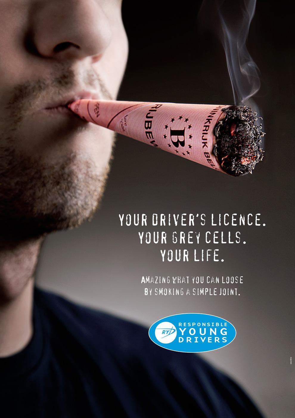 Responsible Young Drivers Print Ad -  Joint
