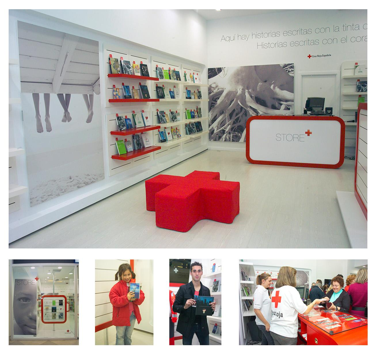 Red Cross Ambient Ad -  The Red Cross Hope Store