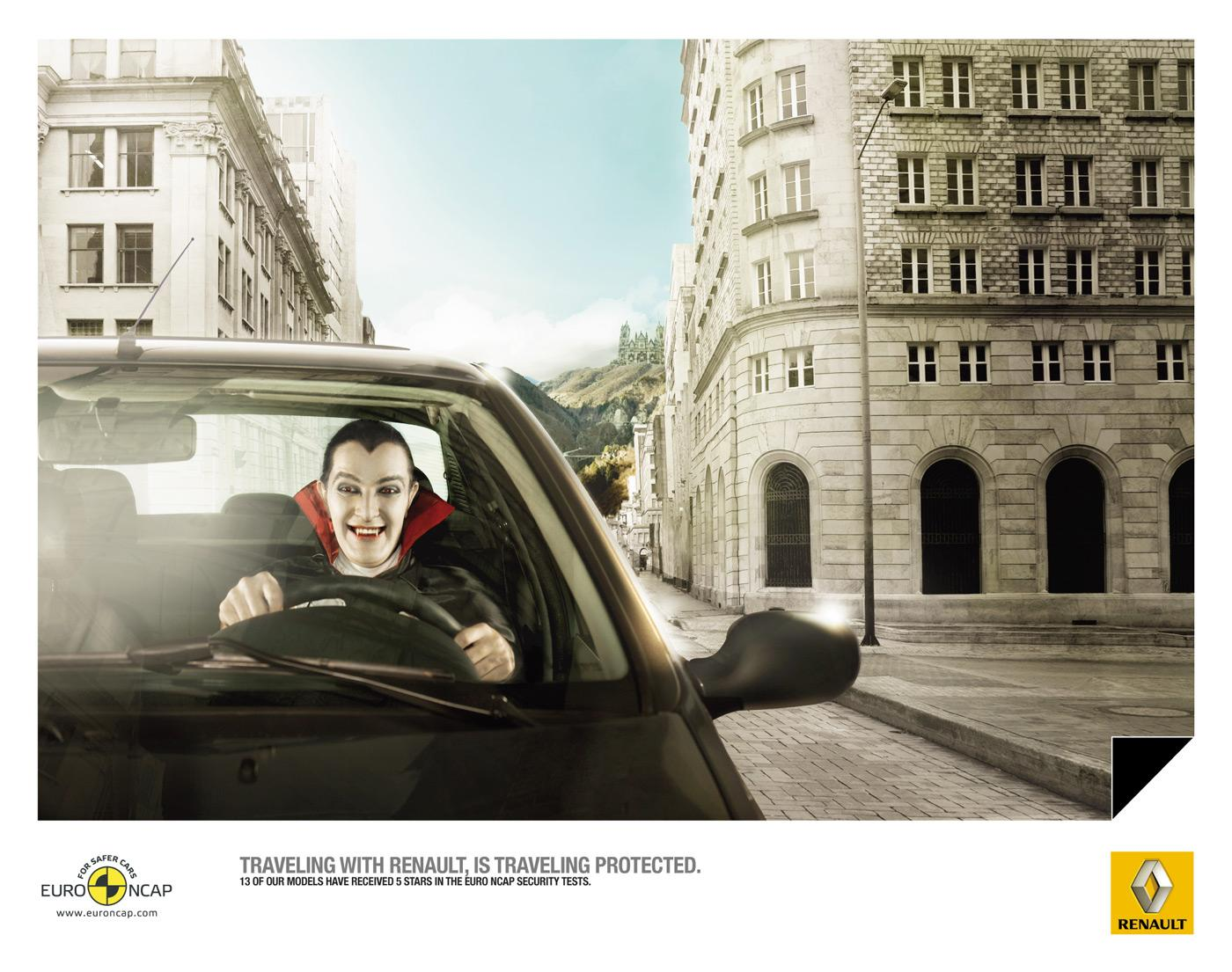 Renault Print Ad -  Dracula