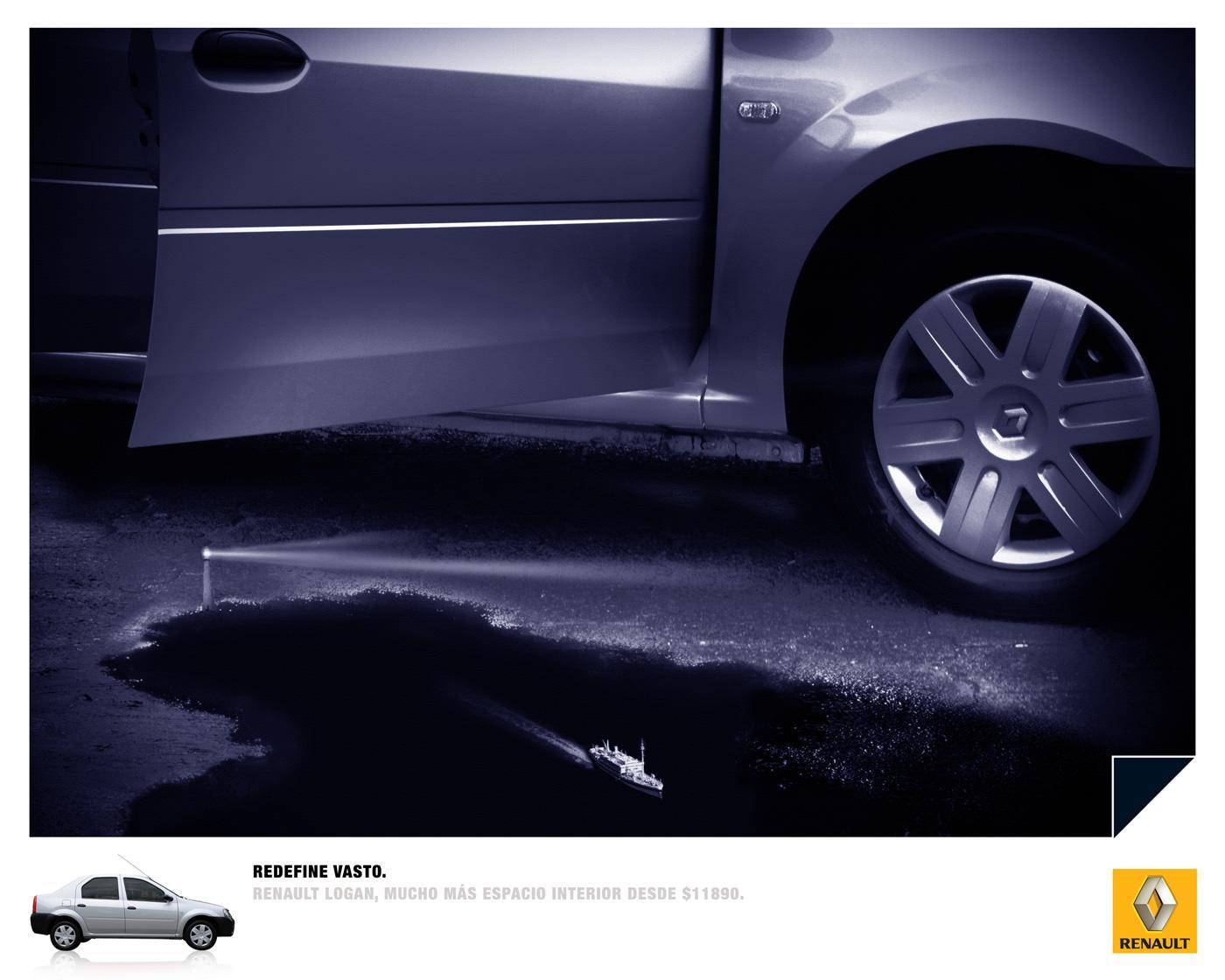 Renault Print Ad -  Boat