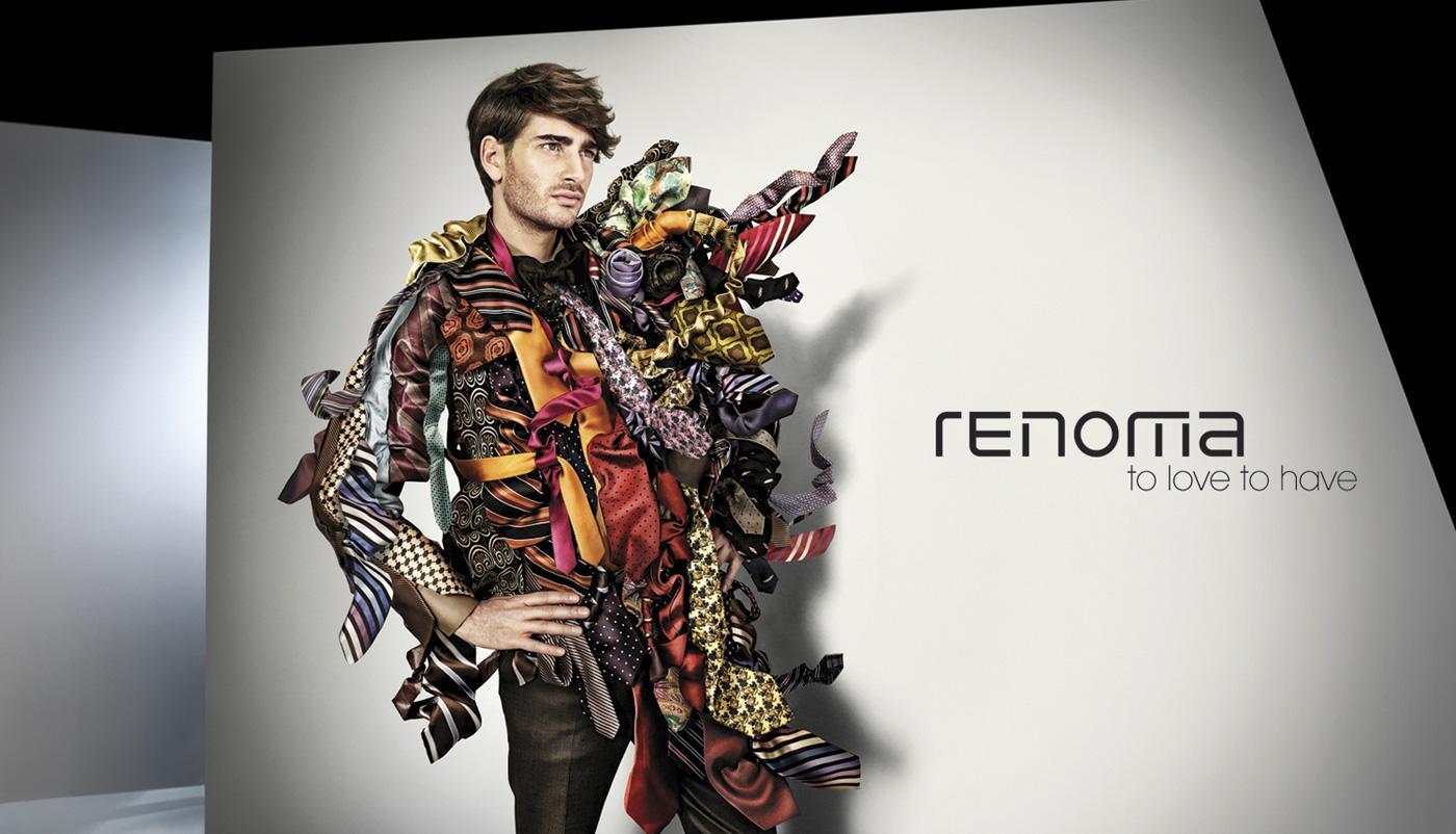 Renoma Print Ad -  Tie