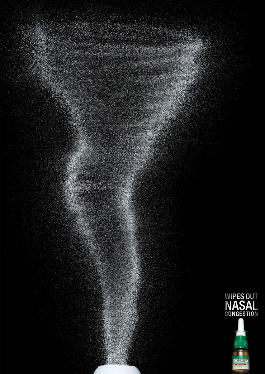 Rinazina Print Ad -  Tornado