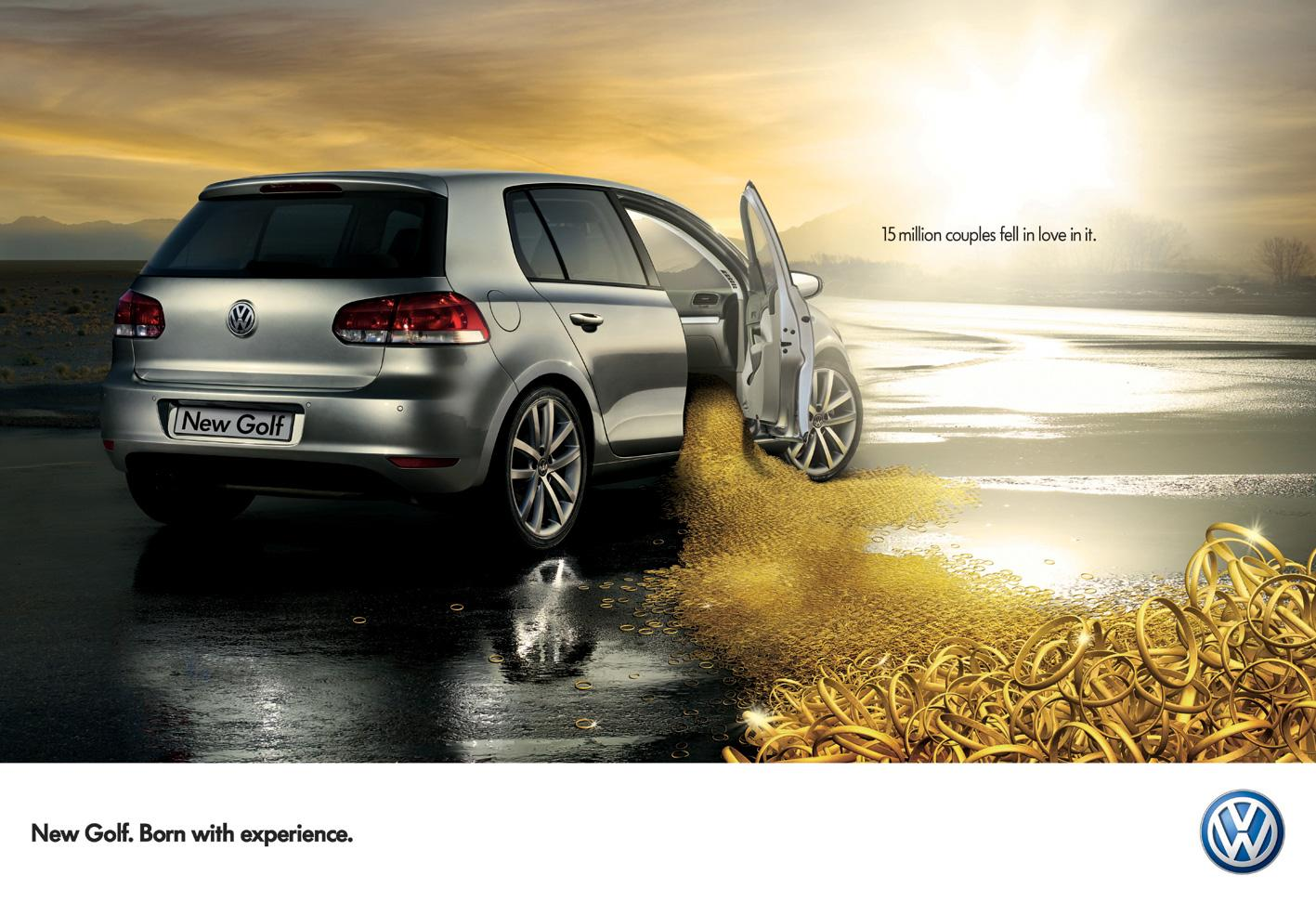 Volkswagen Print Ad -  Rings