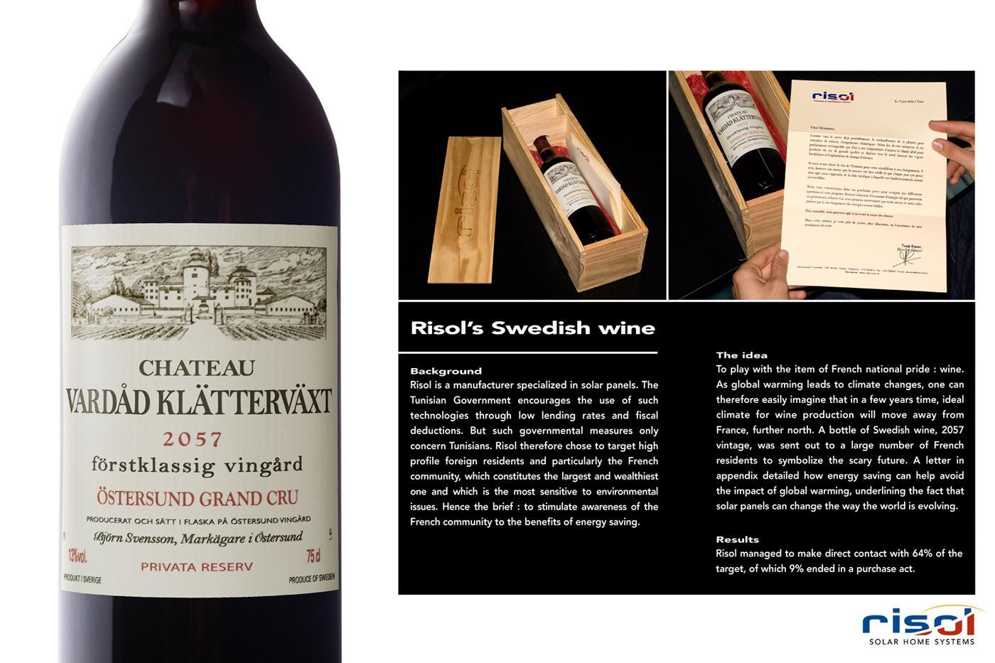 Risol Direct Ad -  Swedish wine
