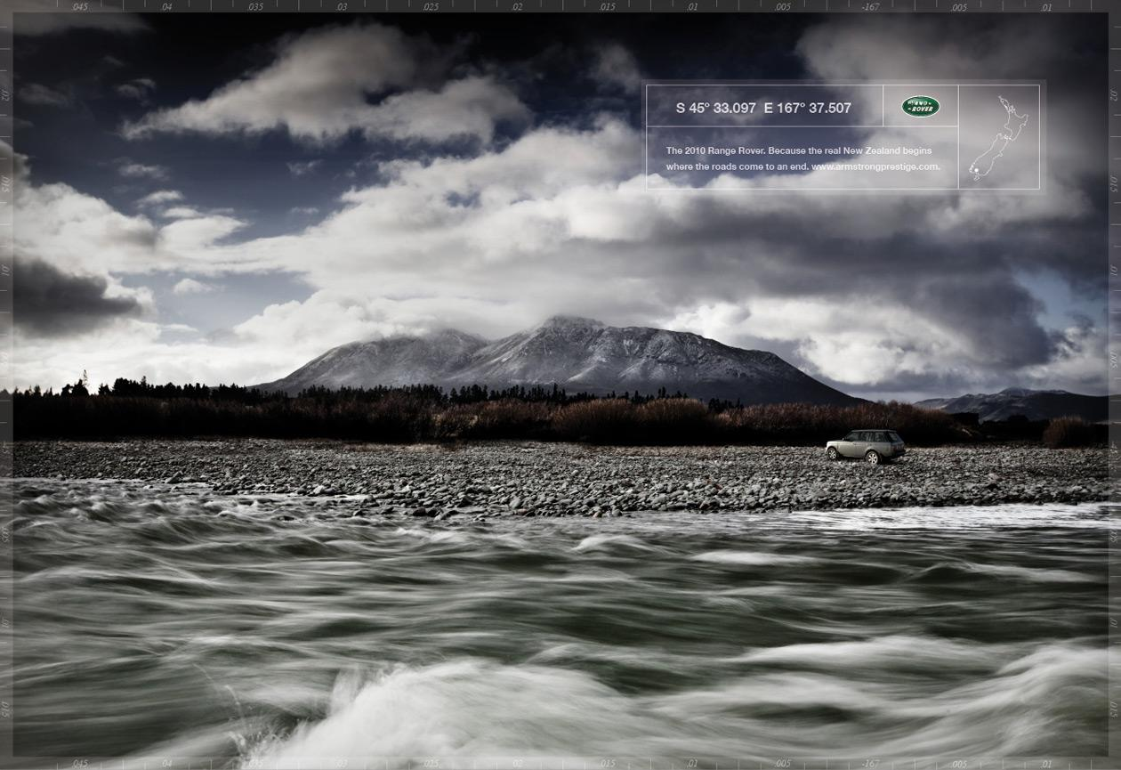 Land Rover Print Ad -  Riverside