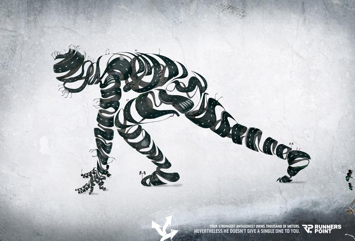 Runnerspoint Print Ad -  Antagonist