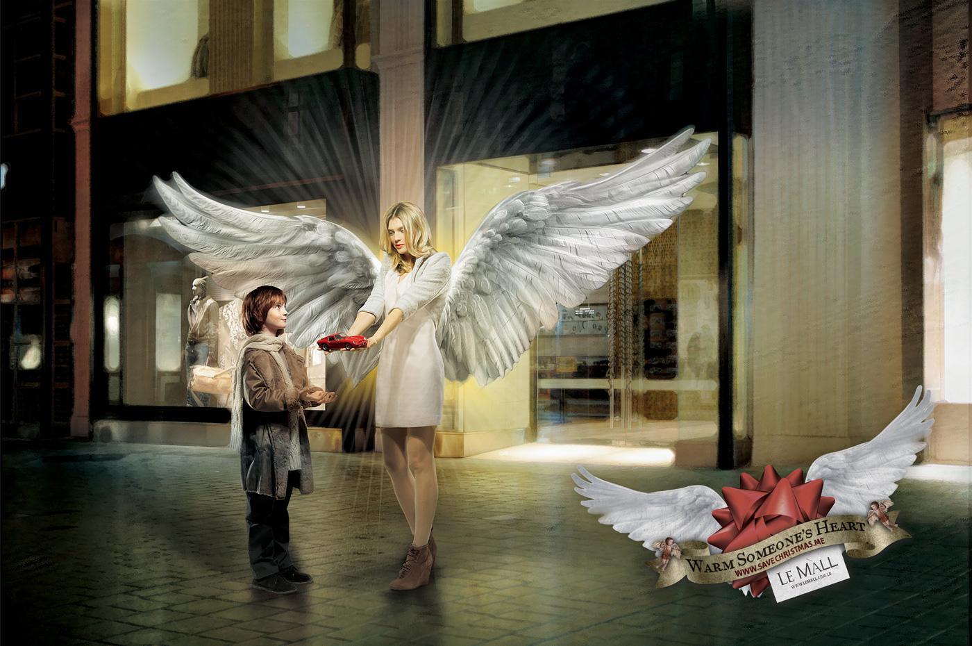 Le Mall Print Ad -  Save Christmas, 2