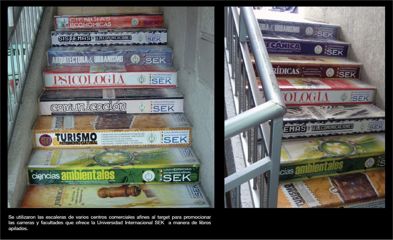 SEK University Ambient Ad -  Books