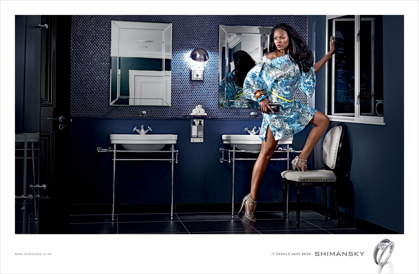 Shimansky Print Ad -  Bathroom escape