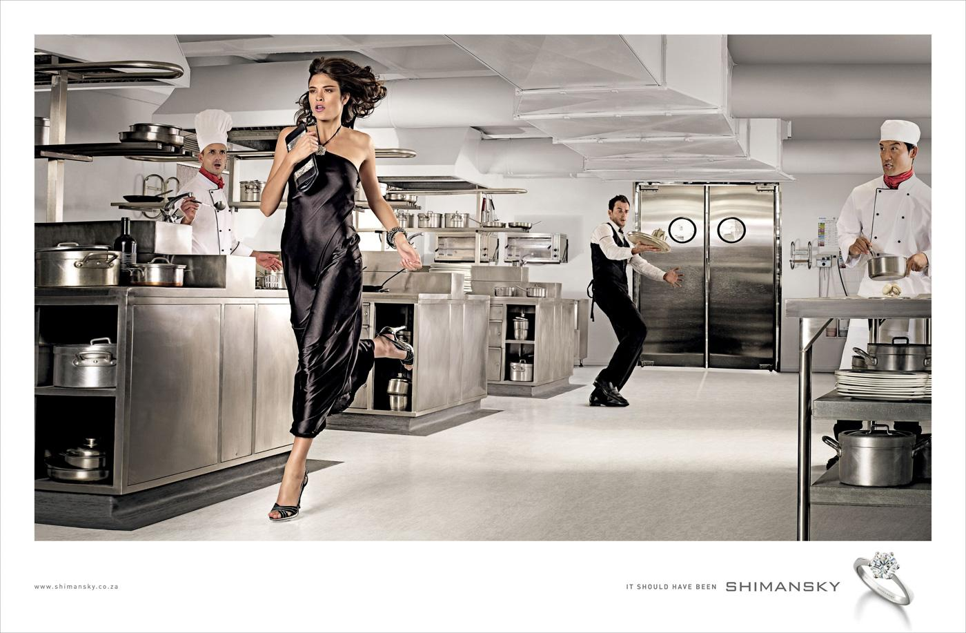 Shimansky Print Ad -  Kitchen escape