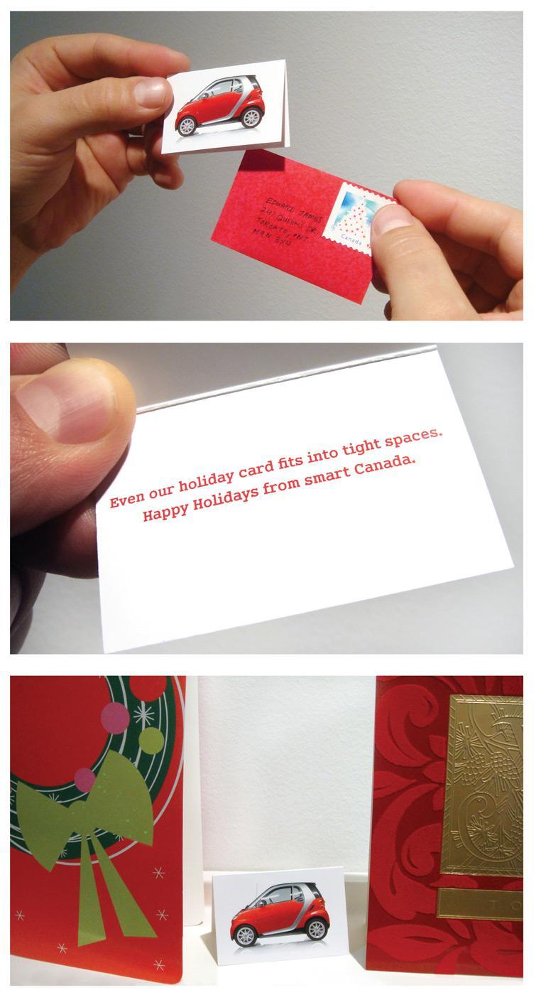 Smart Direct Ad -  Christmas card
