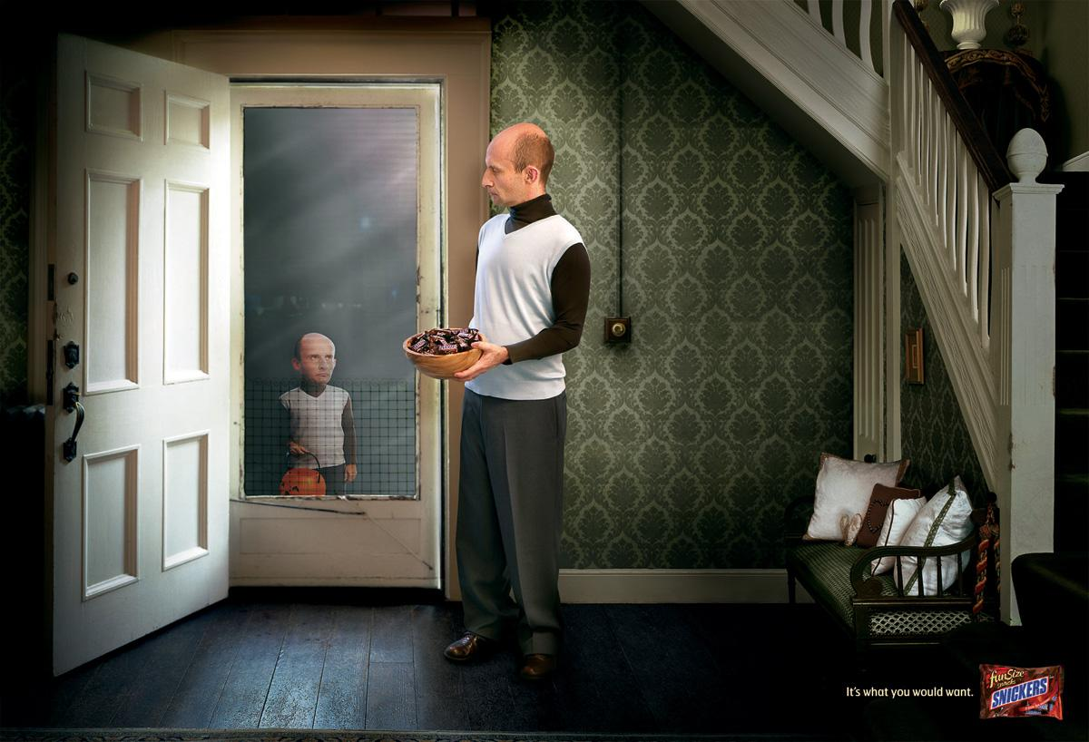 Snickers Print Ad -  Mr Caramone