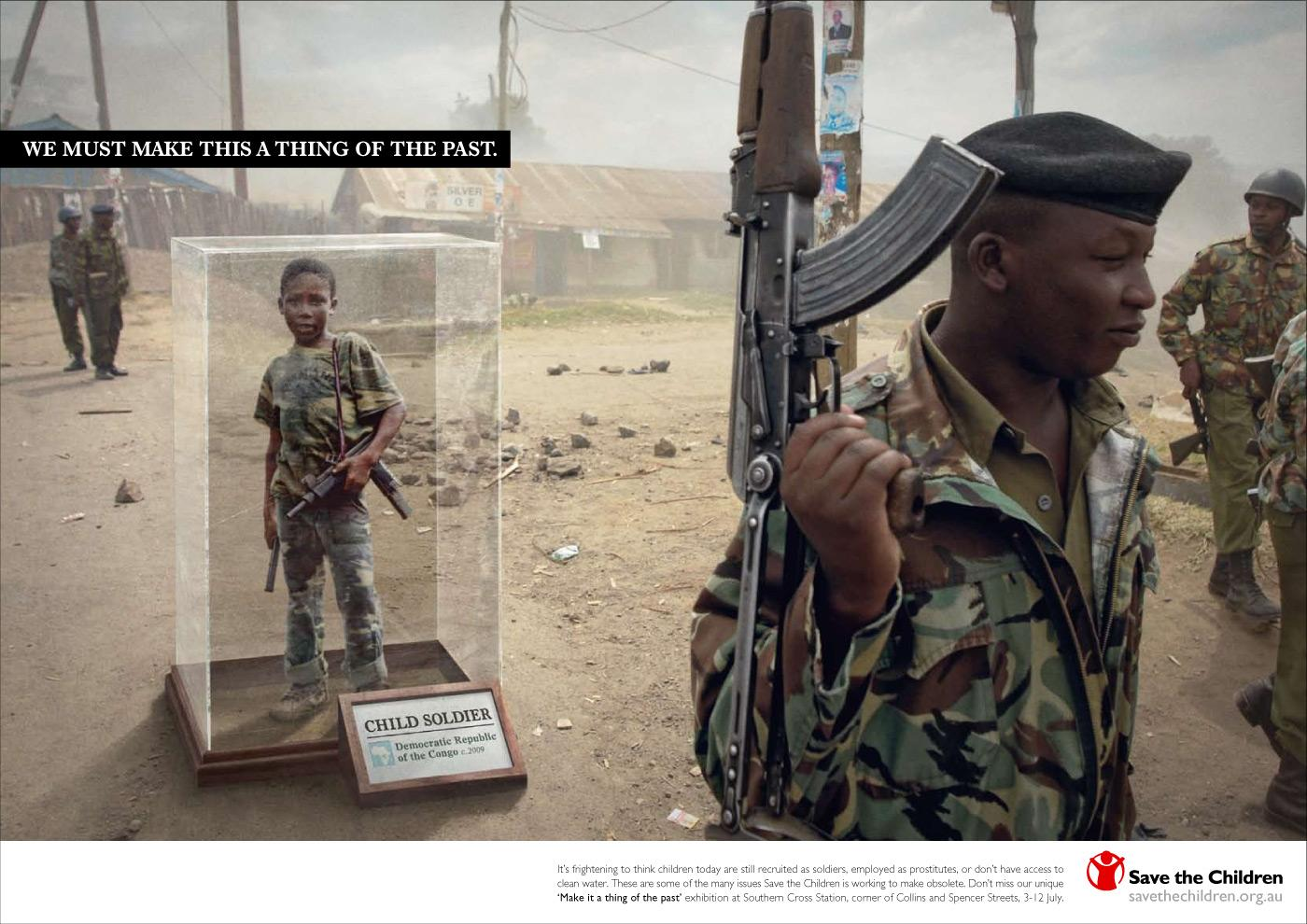 Save the Children Print Ad -  Child labour