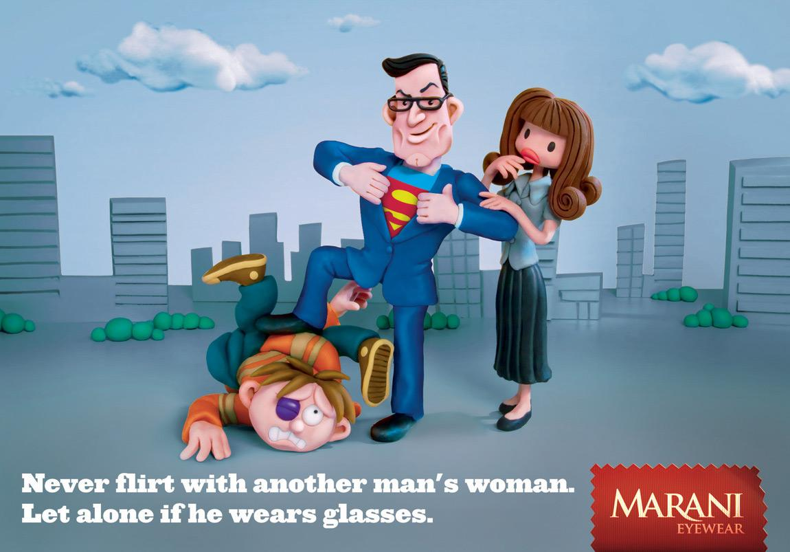 Marani Outdoor Ad -  Superman