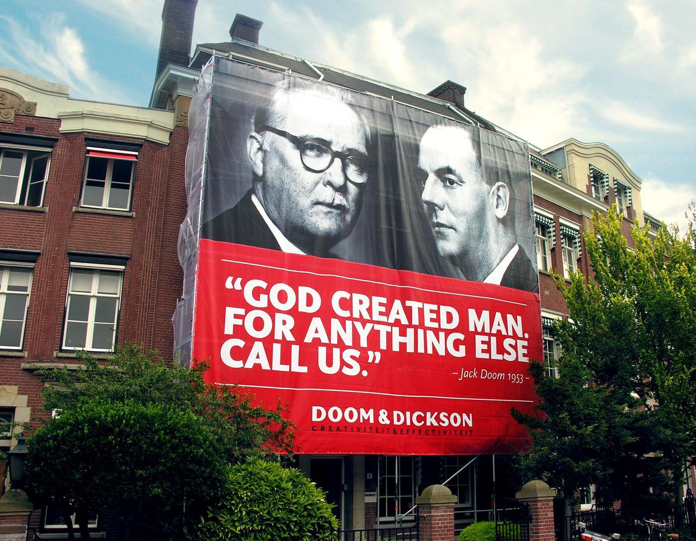 Doom&Dickson Outdoor Ad -  Swank