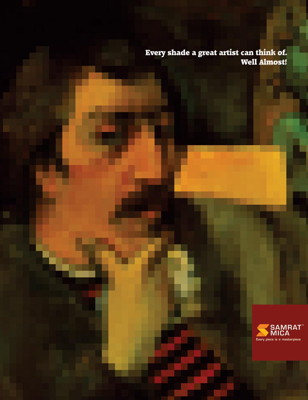 Samrat Mica Print Ad -  Painting, 1