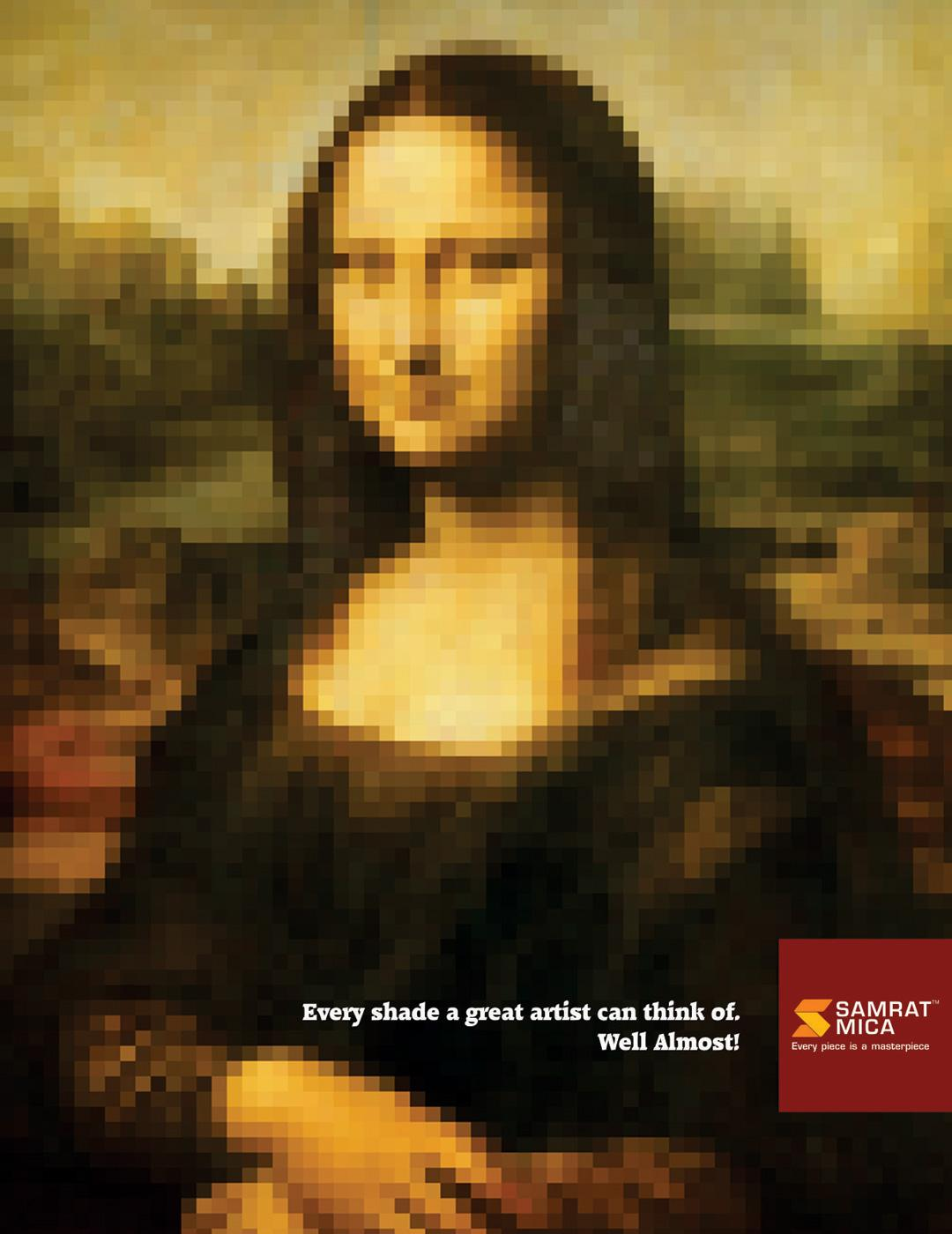 Samrat Mica Print Ad -  Painting, 2