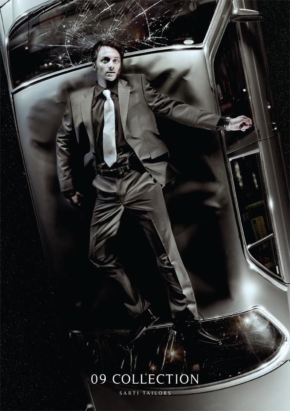 Sarti Tailors Print Ad -  09 Collection, Car