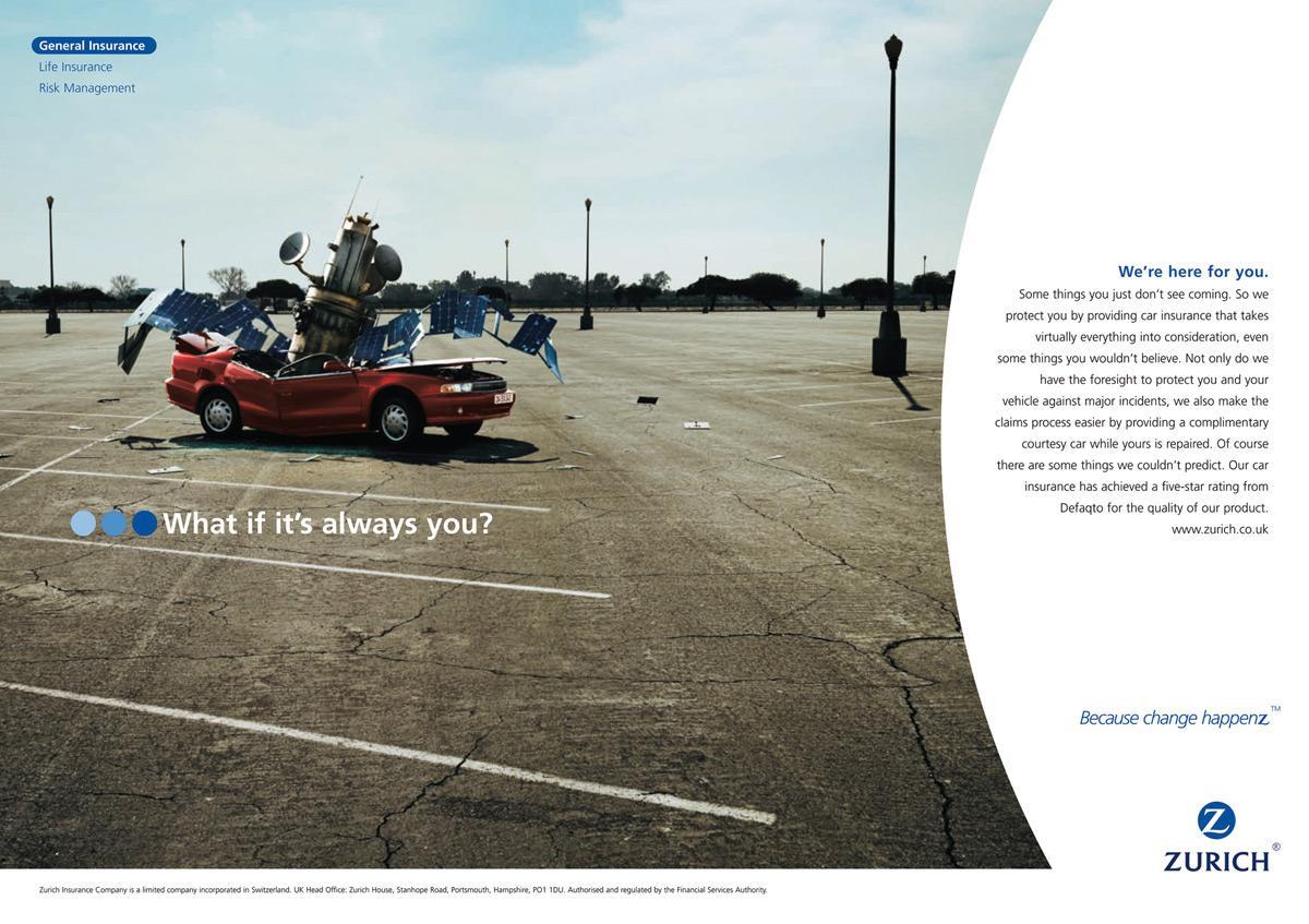Zurich Print Ad -  Satellite