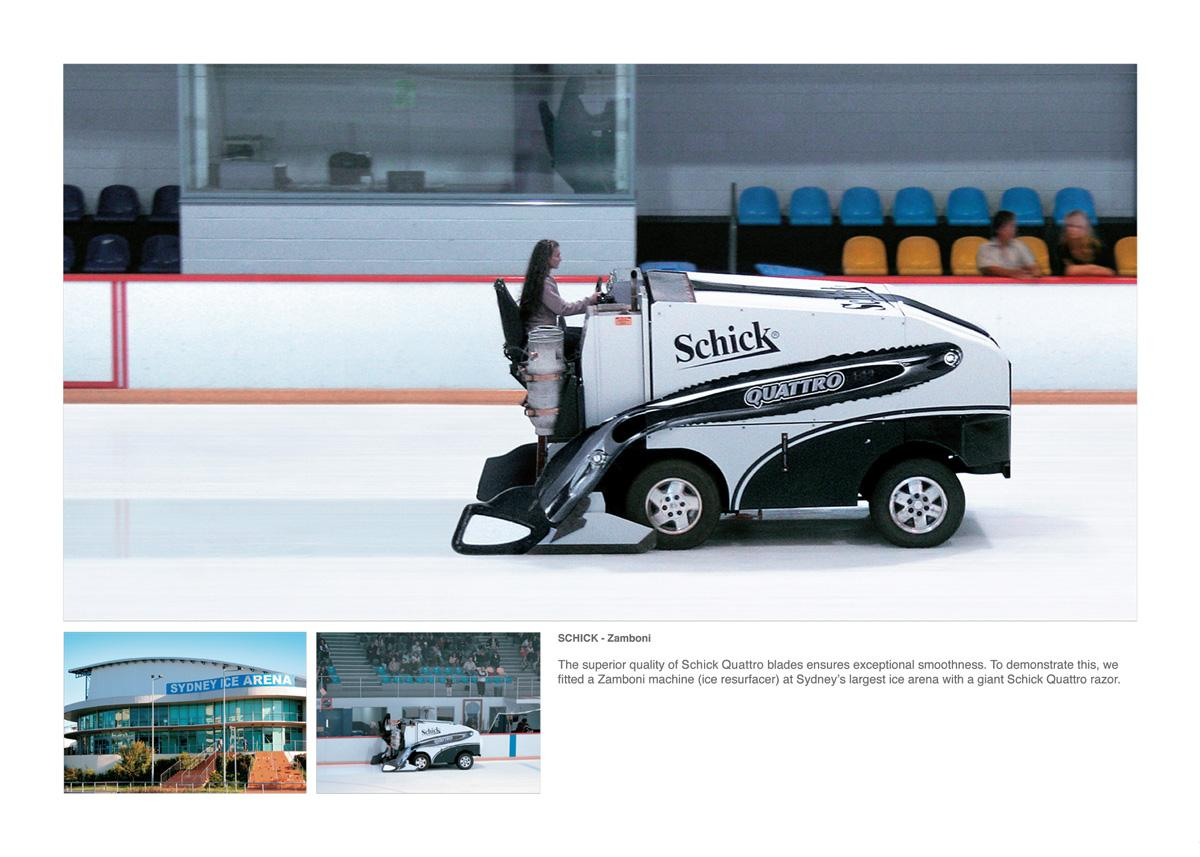 Schick Ambient Ad -  Ice Resurfacer