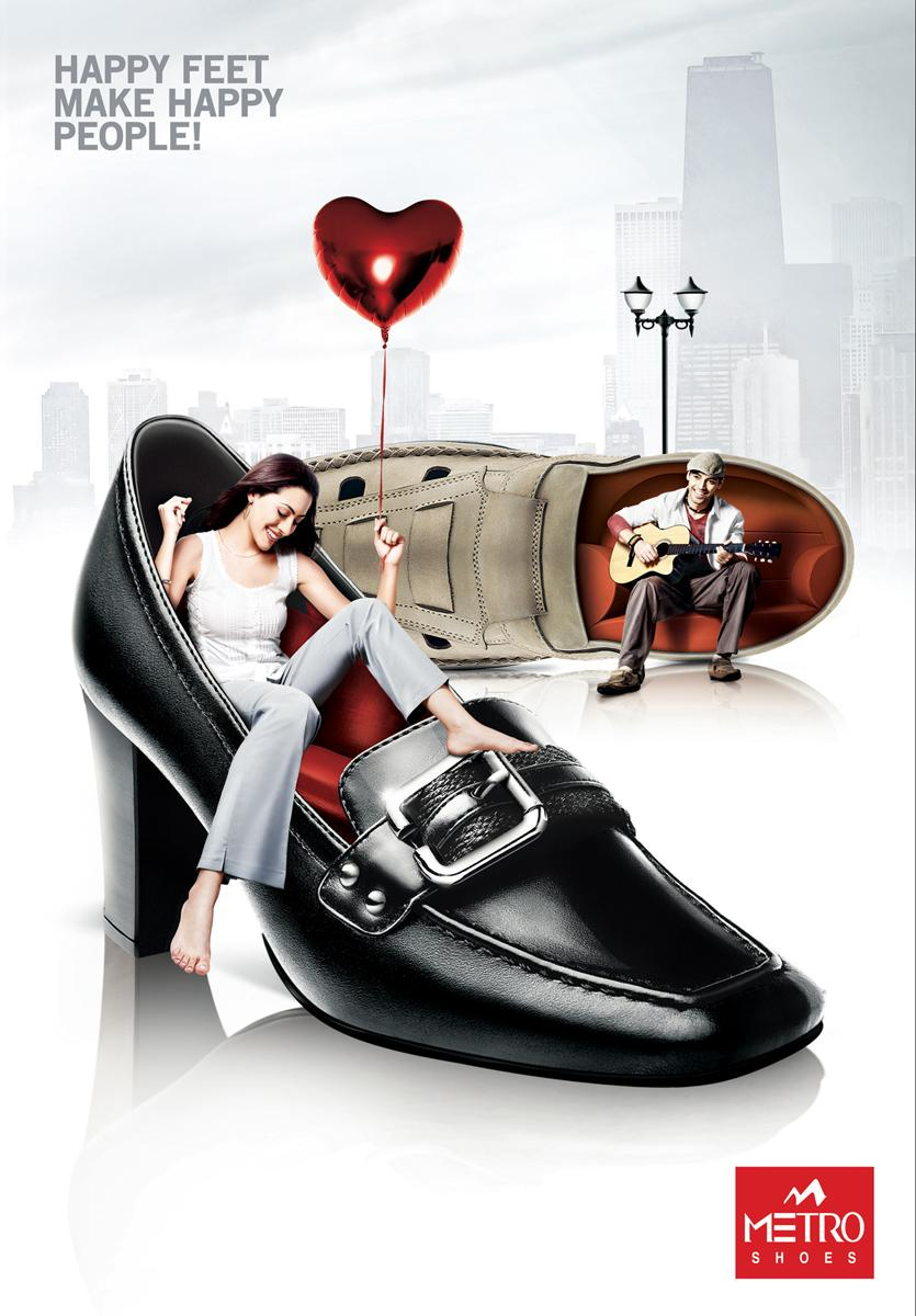 Metro Shoes Print Ad -  Shoe Lounge (Urban Shoes)
