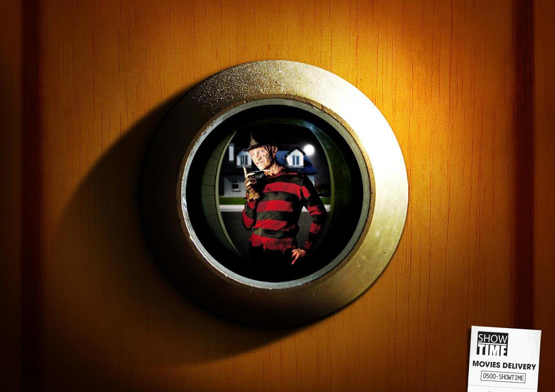 Showtime Print Ad -  Freddy