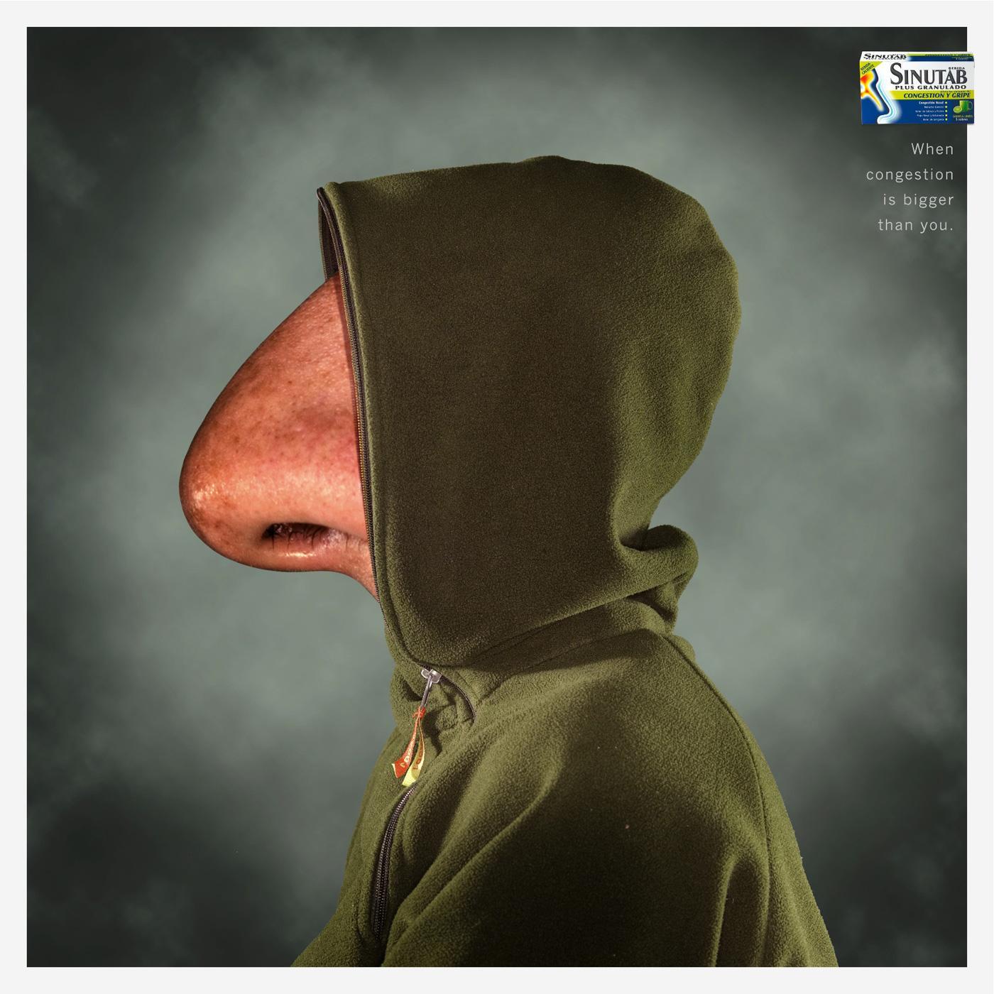 Sinutab Print Ad -  Nose, 3