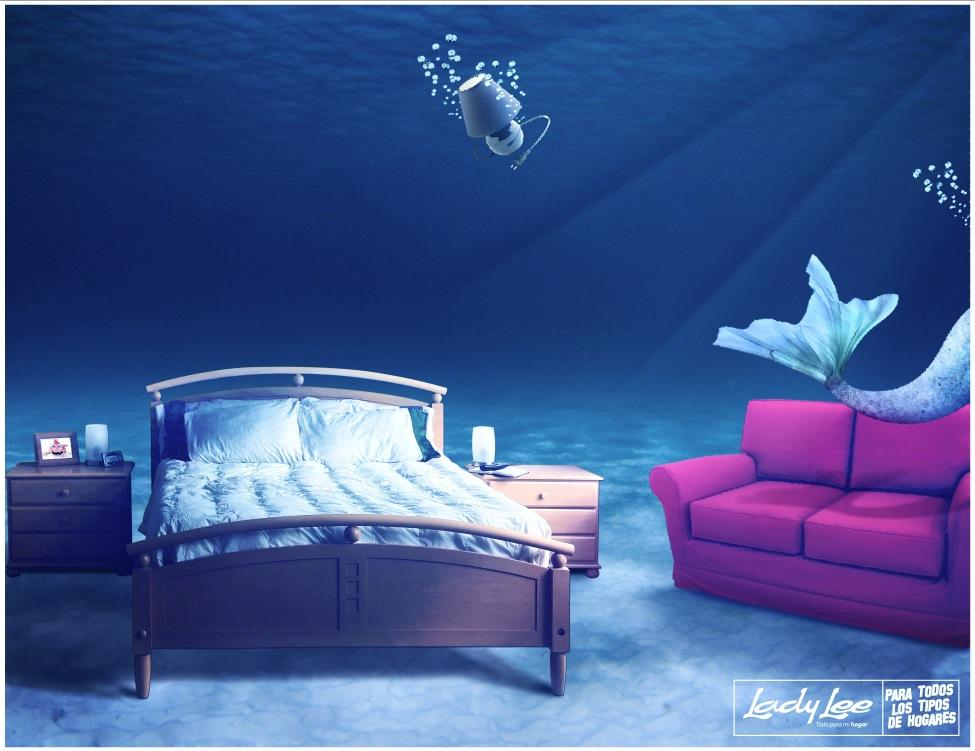 Lady Lee Print Ad -  All for my home, Siren