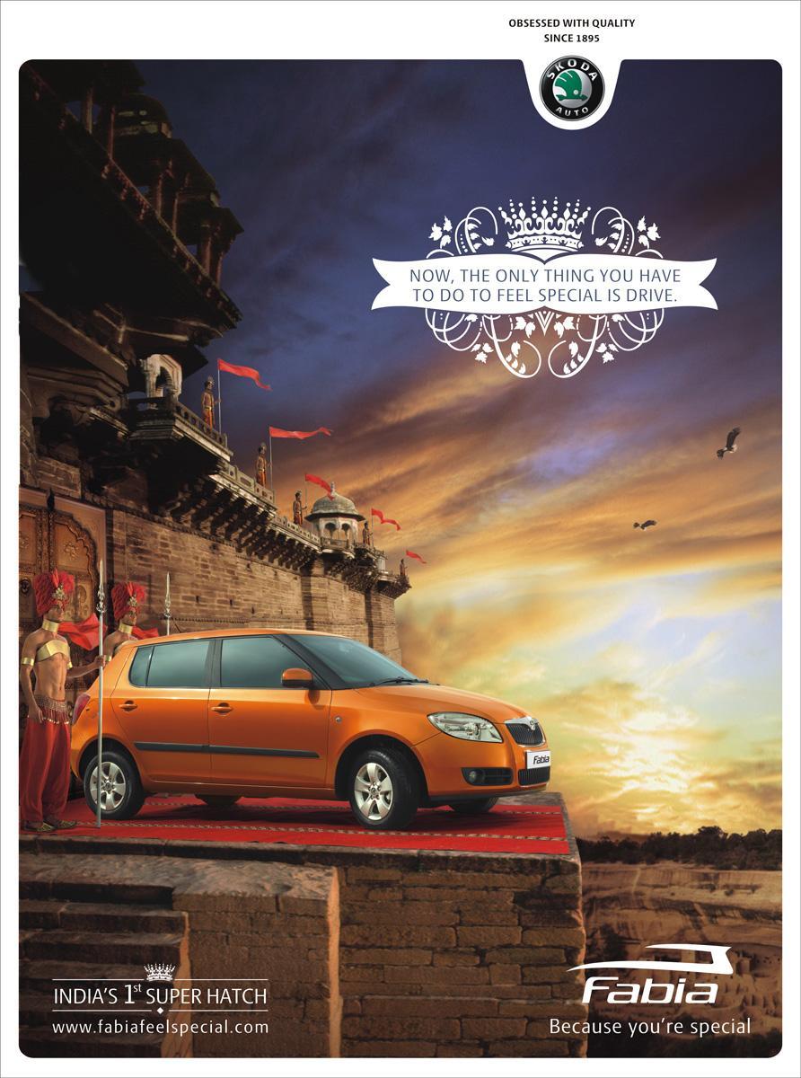 Skoda Print Ad -  Special, 2