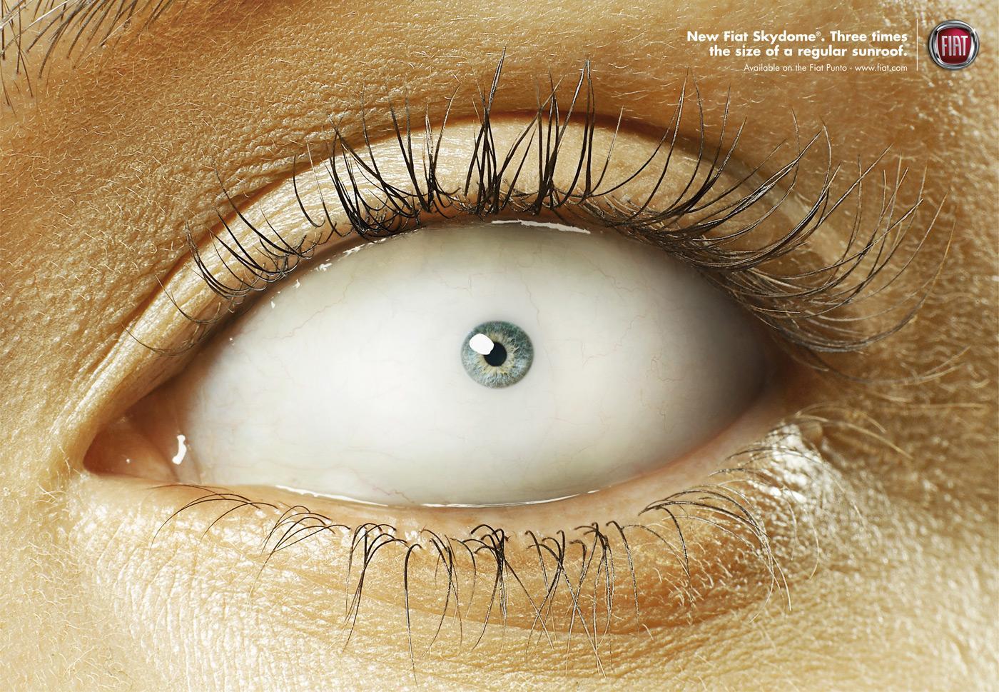 Fiat Print Ad -  Small Iris