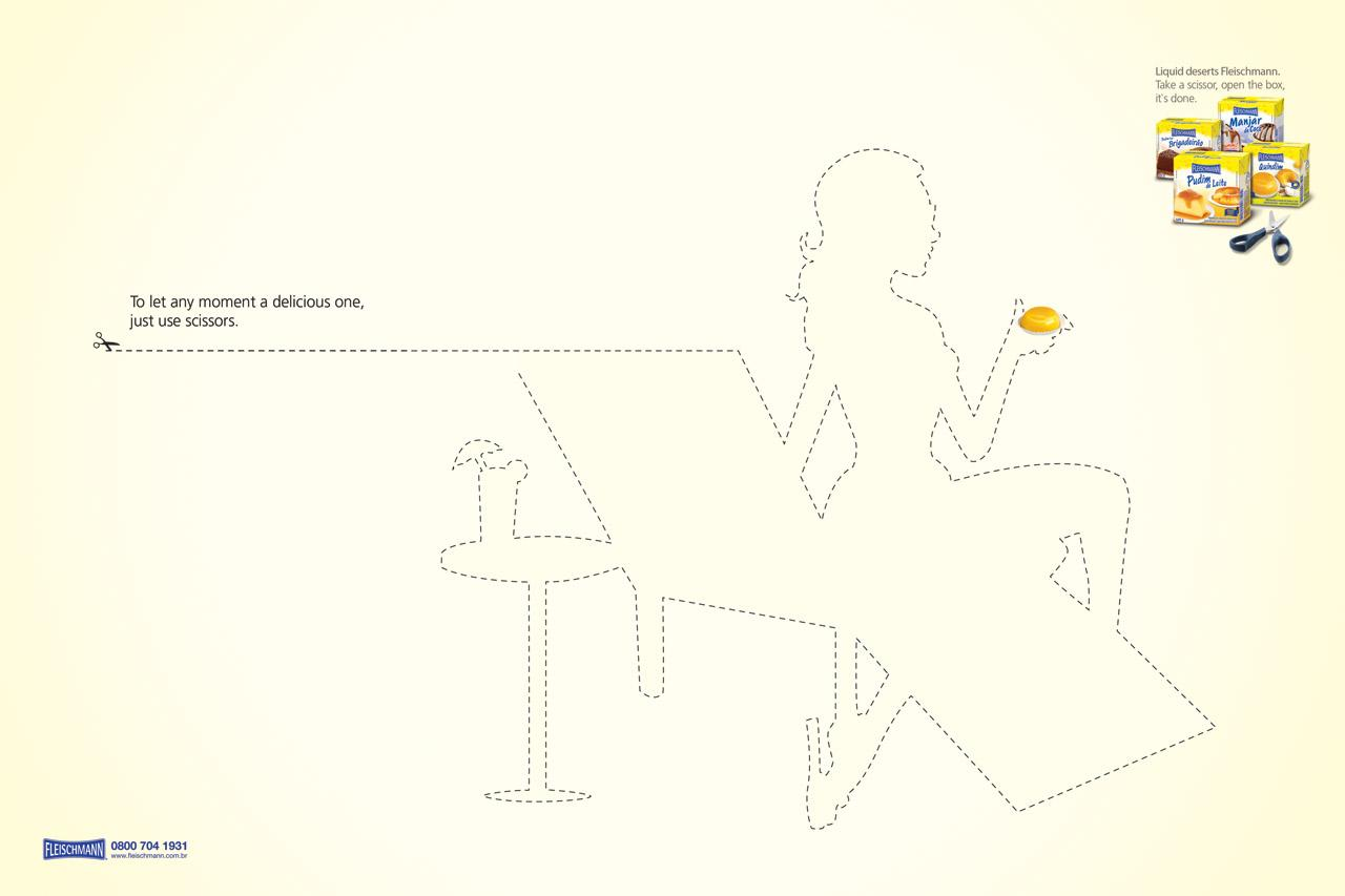 Fleischmann Print Ad -  Delicious moments, Deck chair