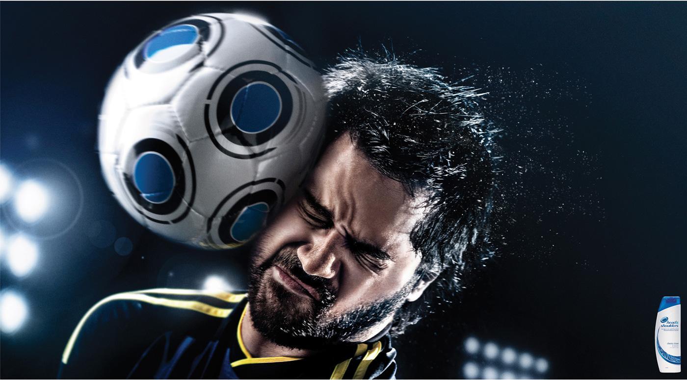 Head & Shoulders Print Ad -  Soccer