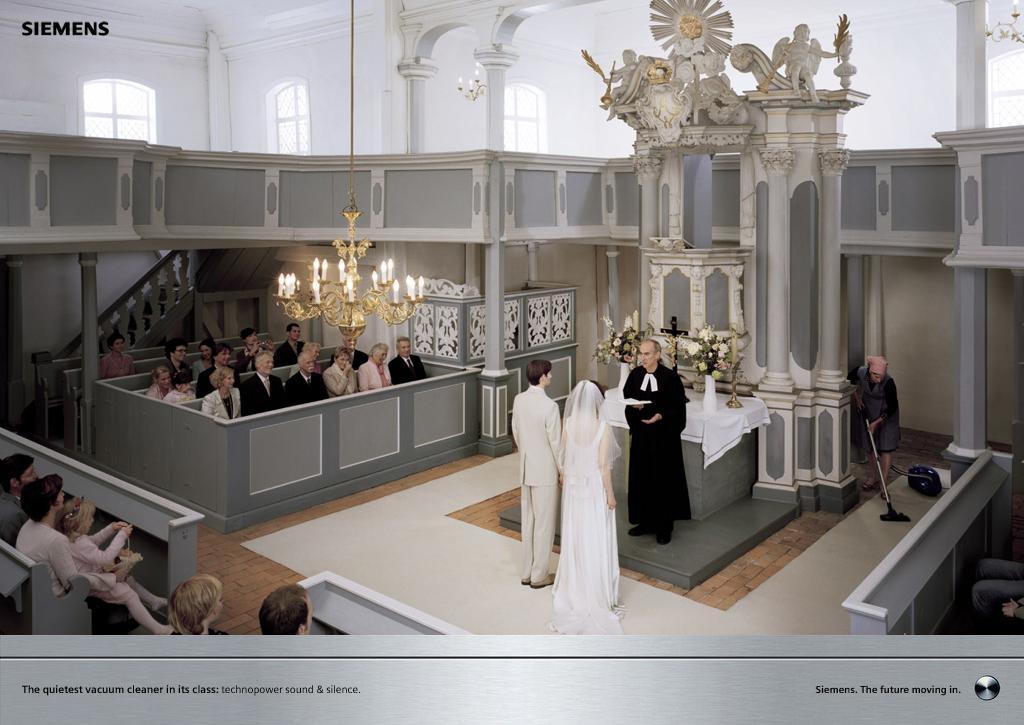 Siemens Print Ad -  Wedding
