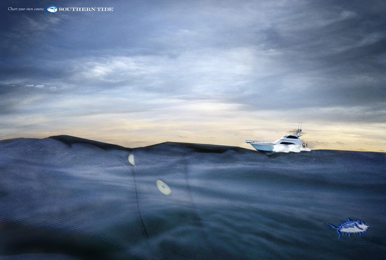 Southern Tide Print Ad -  Ocean